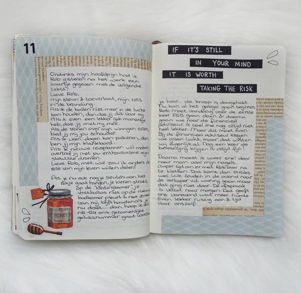 Keep a Diary in Your Bullet Journal