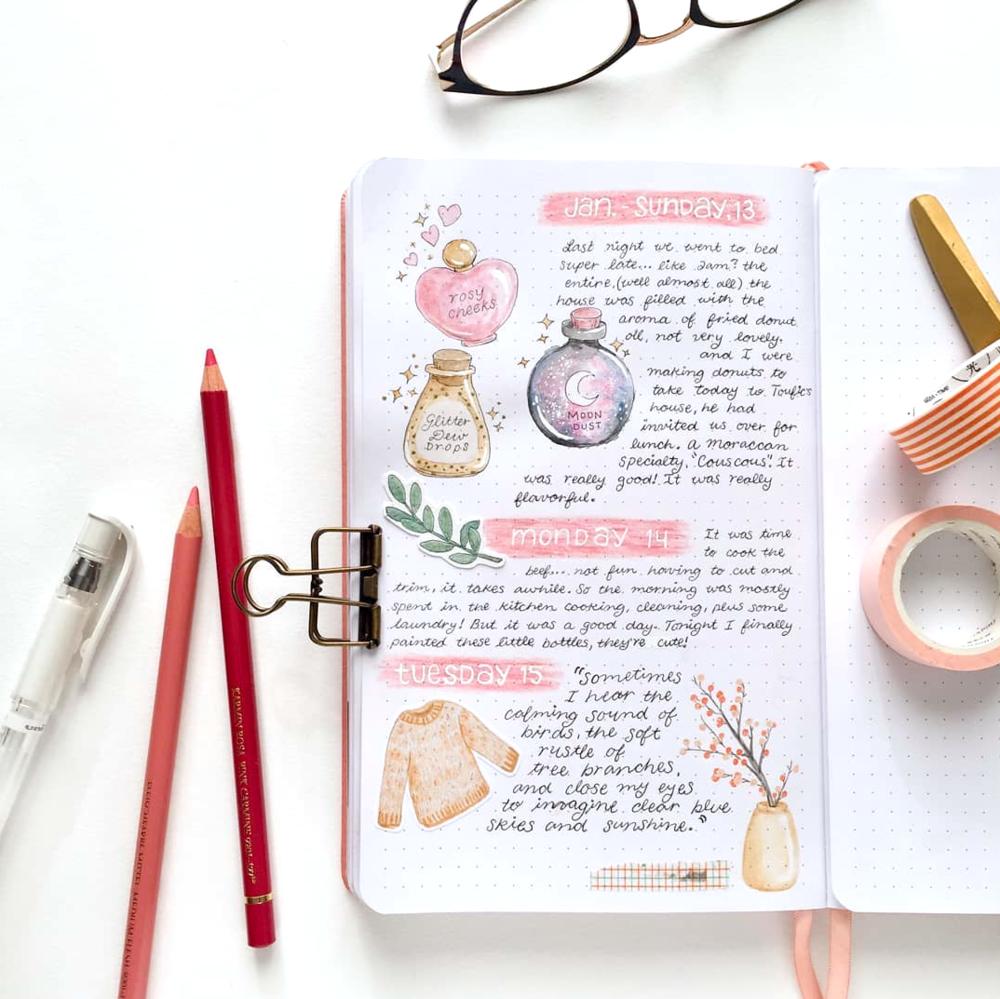 Dear Diary…Write it all in a Bullet Journal