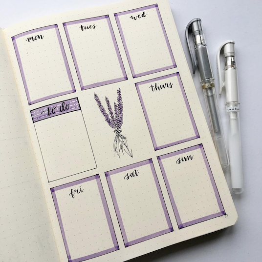 Ways to Create Bullet Journal Weekly Pages