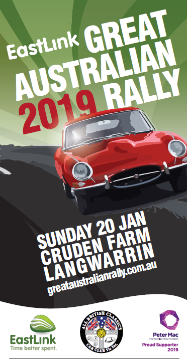 2019 EastLink Great Australian Rally flier.png