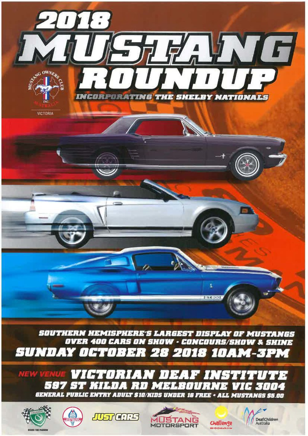 Mustang Round Up AOMC - Car show management software