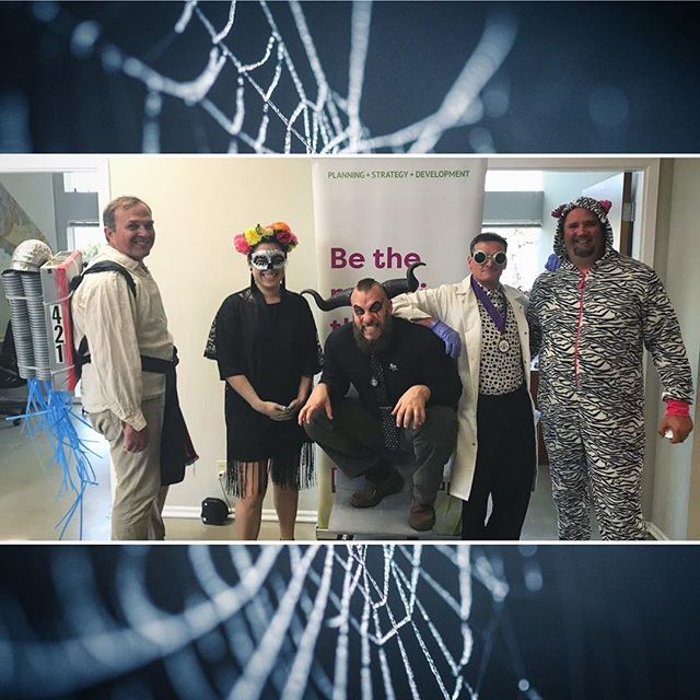We love our team members! Check out these costumed #421derfuls who helped our office celebrate #Halloween in style. 👹💀🎃🤖👻 #happyhalloween #cannabiscommunity #costumes