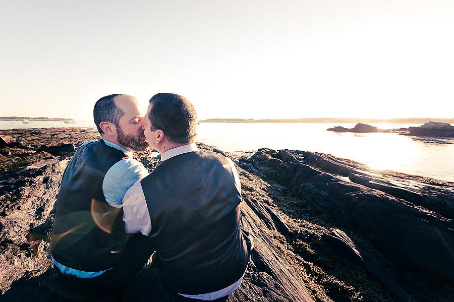 Gay wedding officiation