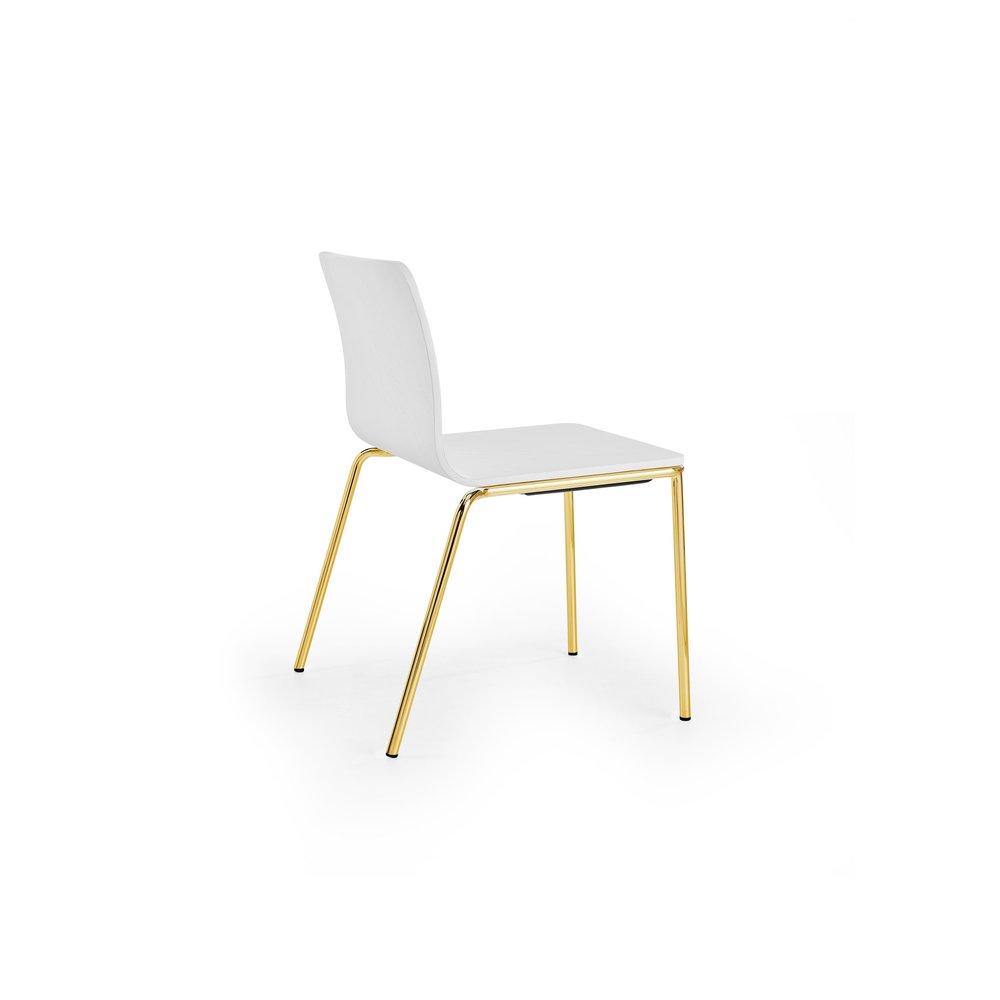 Les Chair 01 White Gold