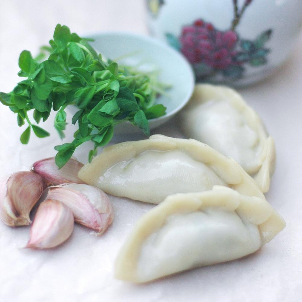 Pork & Snow Pea Sprout Dumpling