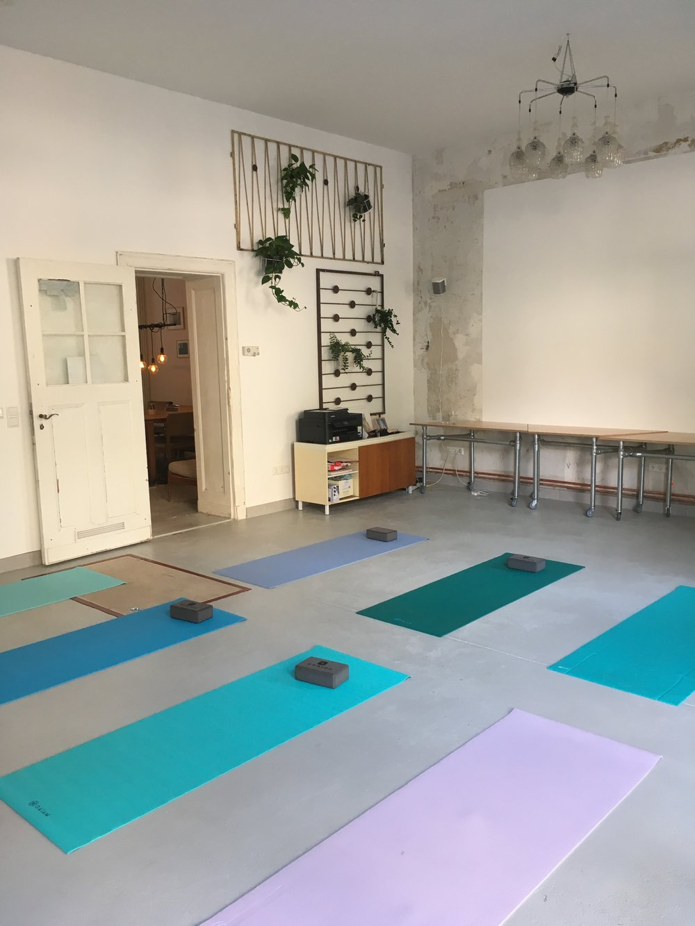 Yoga in our Event Space in Prenzlauer Berg