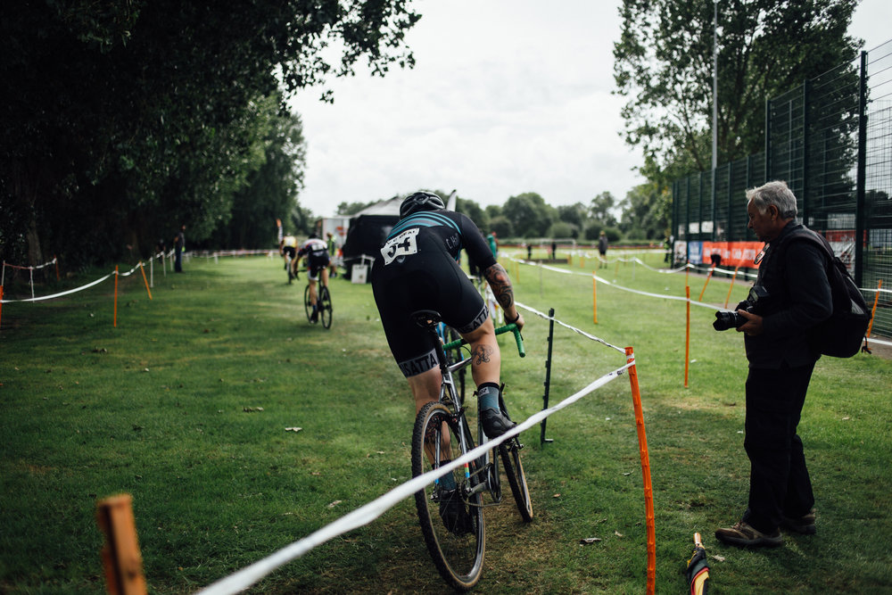 Image from a Kent League cyclocross race by Sean Hardy