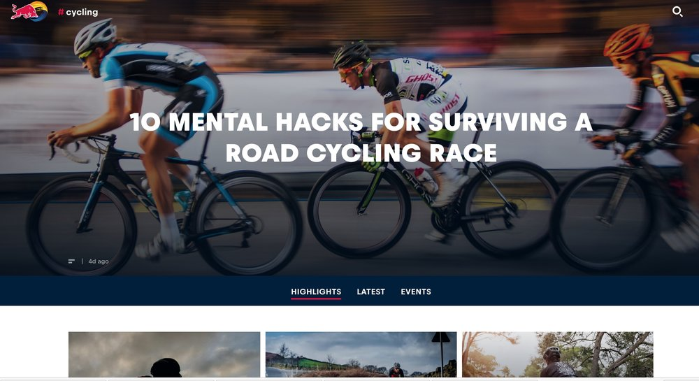 Red Bull: 10 mental hacks for surviving a road cycling race