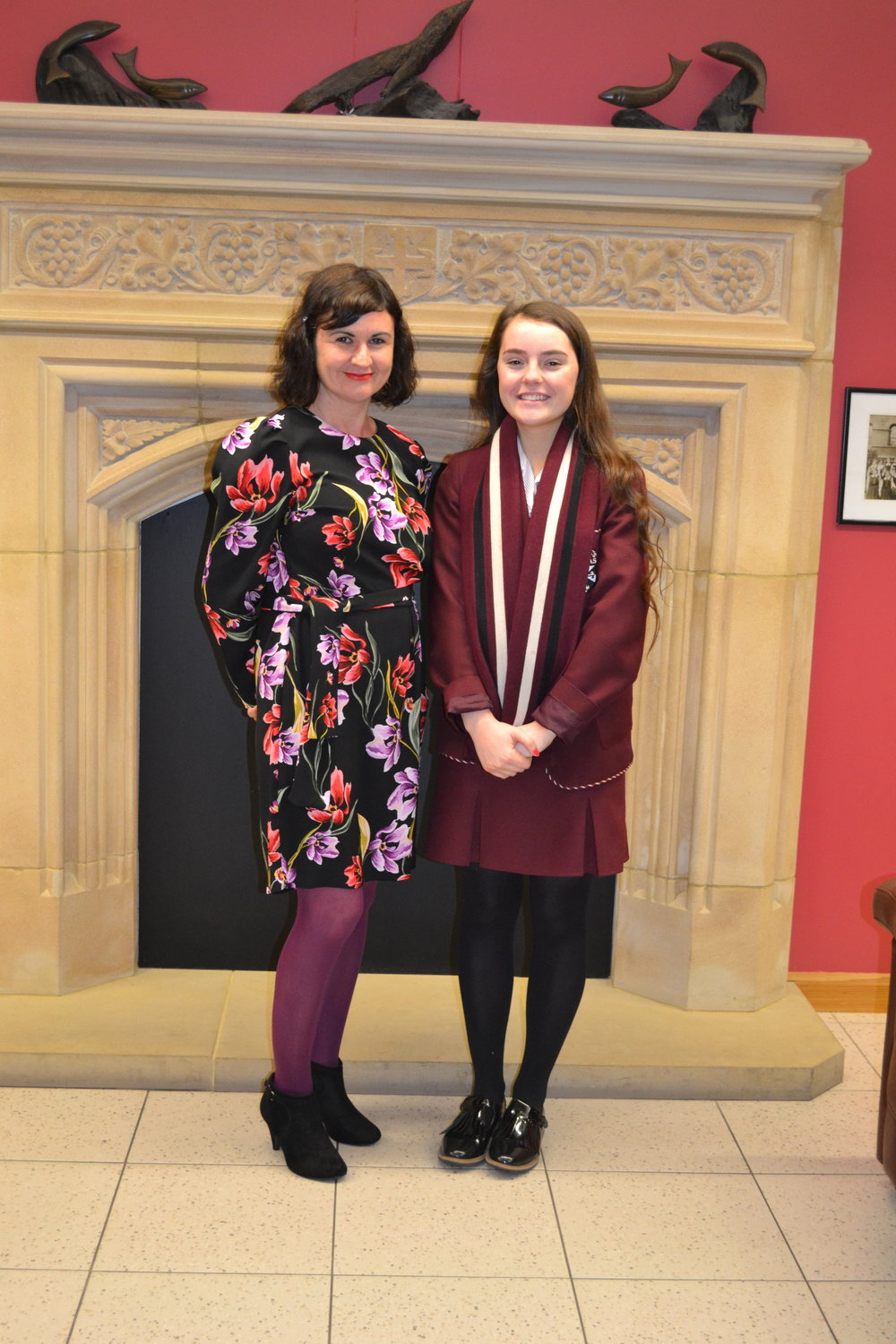 Kira McDonnell 2nd in NI Business Studies GCSE.JPG