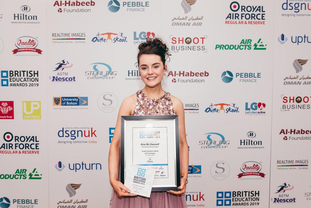 Kira McDonnell NI GCSE Winner.jpg
