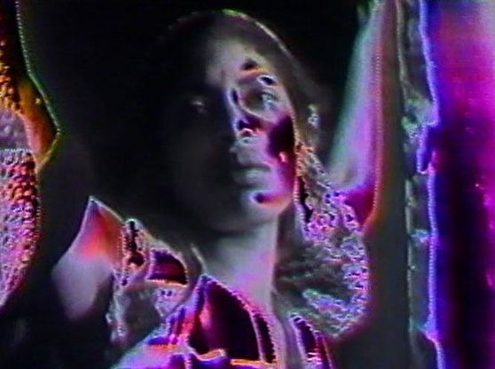"Stills from ""Water Ritual #1: An Urban Rite of Purification"" (1979) directed by Barbara McCullough, starring Yolanda Vidato."