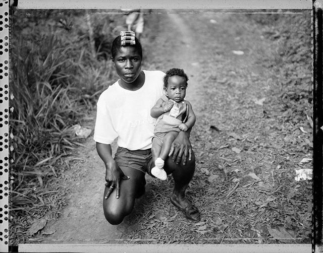 """Cindy & Child""(St Ann, Jamaica, 1995) - ©️Albert Chong"