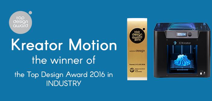 3D Kreator an Award Winner!