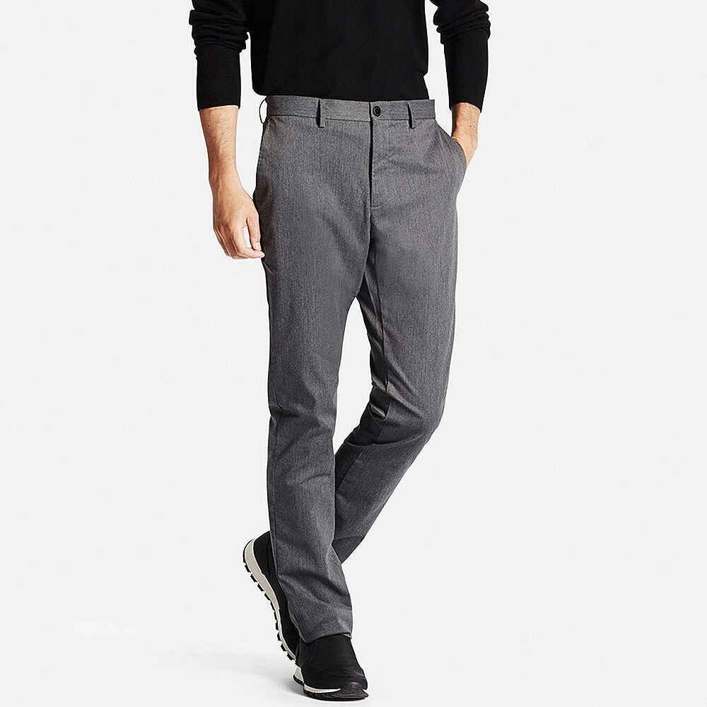 Slim-fit chino flat-front pants, £29.90