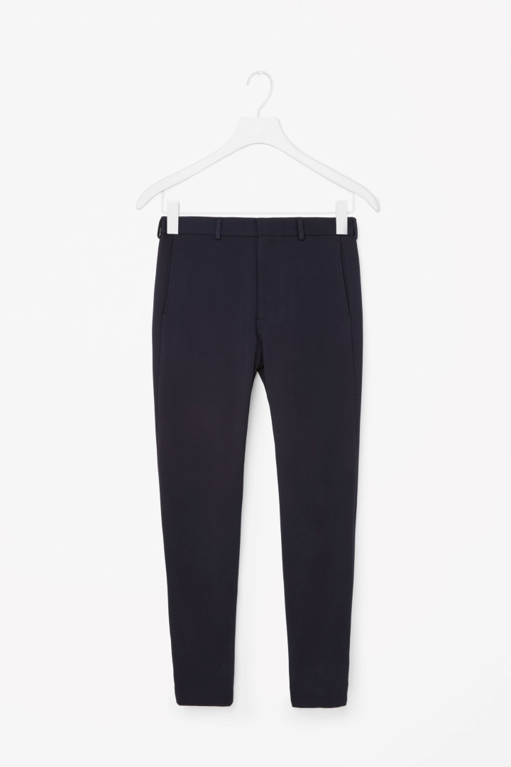 Zip-cuff jersey trousers, £69 (cosstores.com)