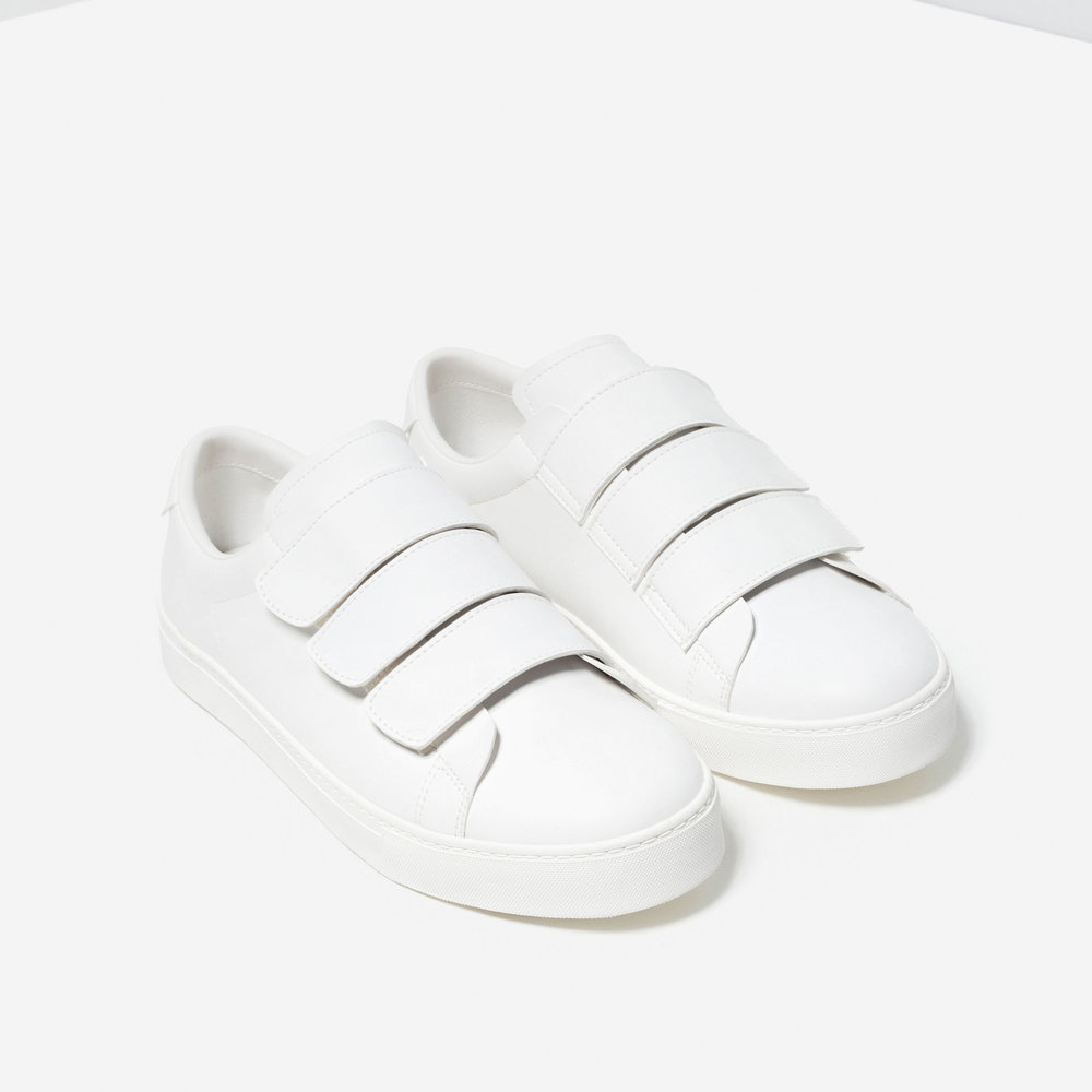 Hook and loop sneakers, £29.99 ( zara.com )