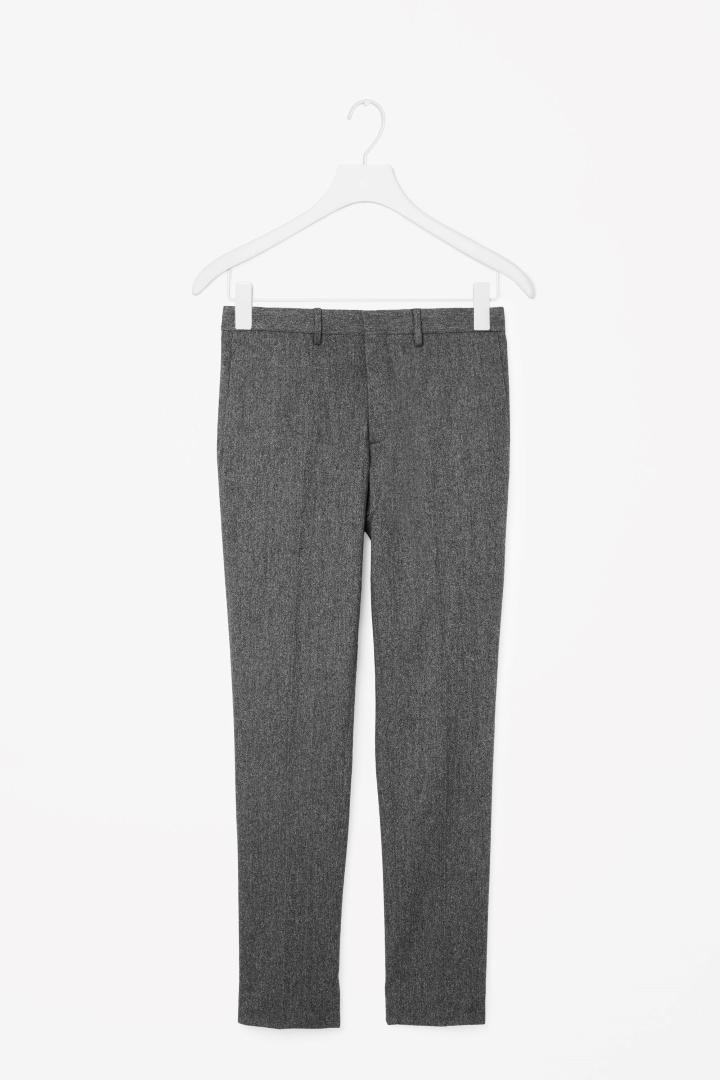 Wool mélange trousers, £79 (cosstores.com)