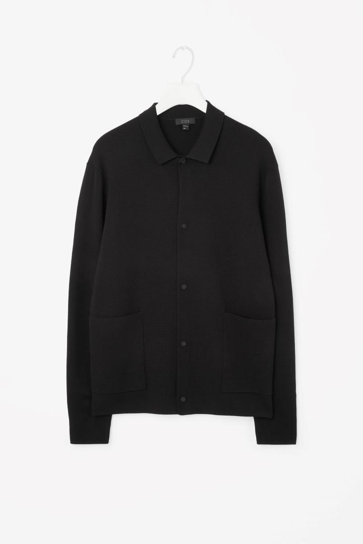 Knitted merino jacket ( cosstore.com )