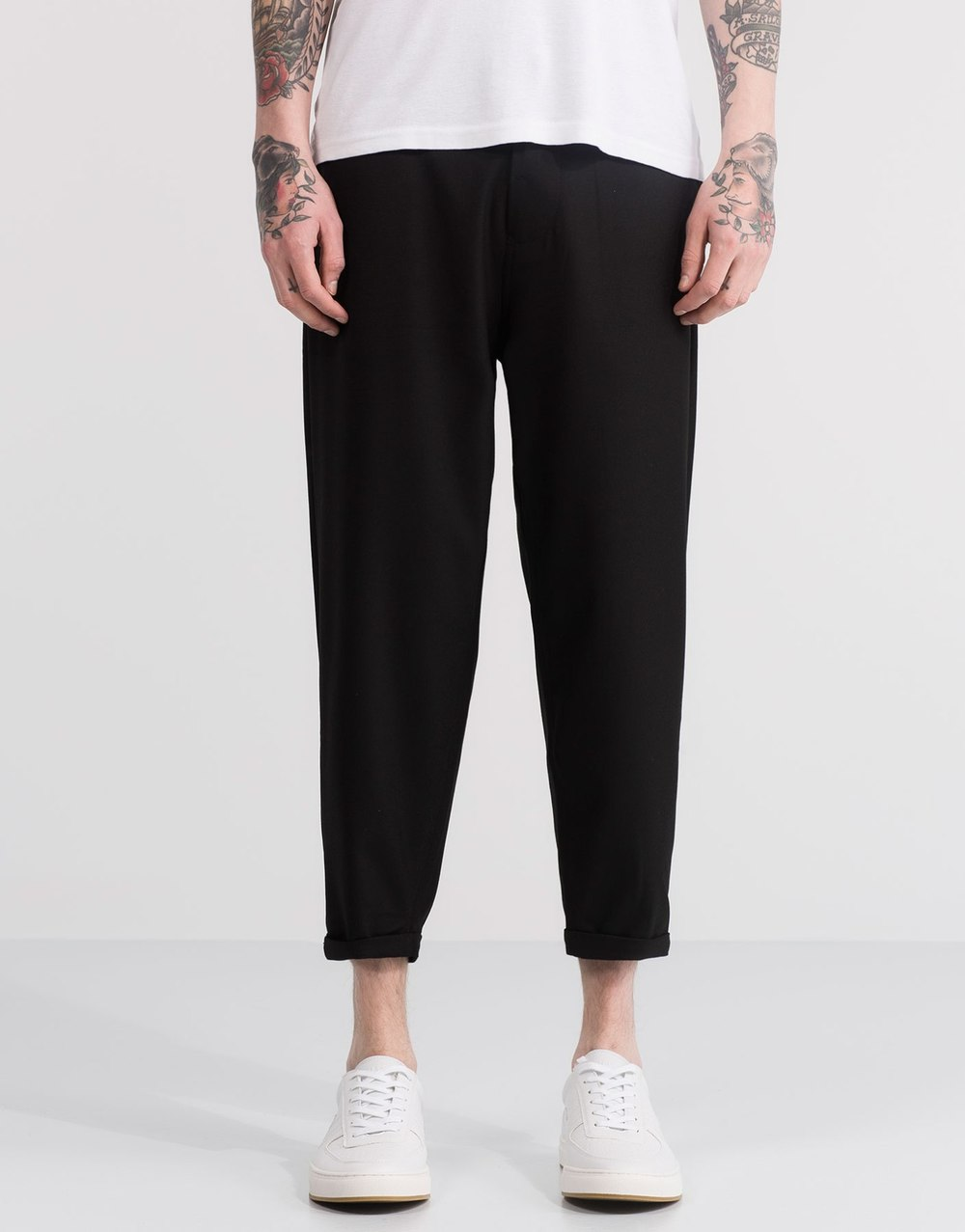 Smart loose fit trousers, £29.99 ( pullandbear.com )