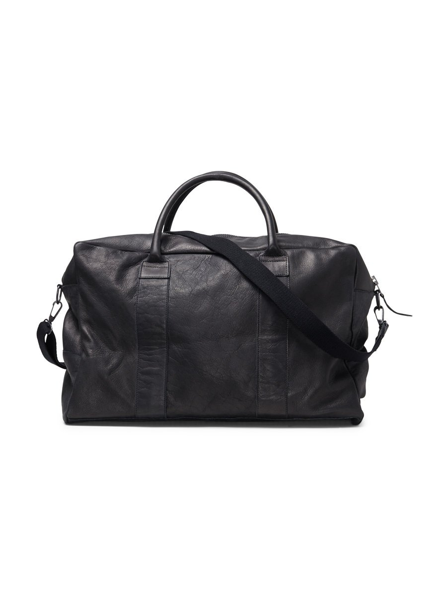 Durable leather weekend bag, £165 ( jackjones.com )