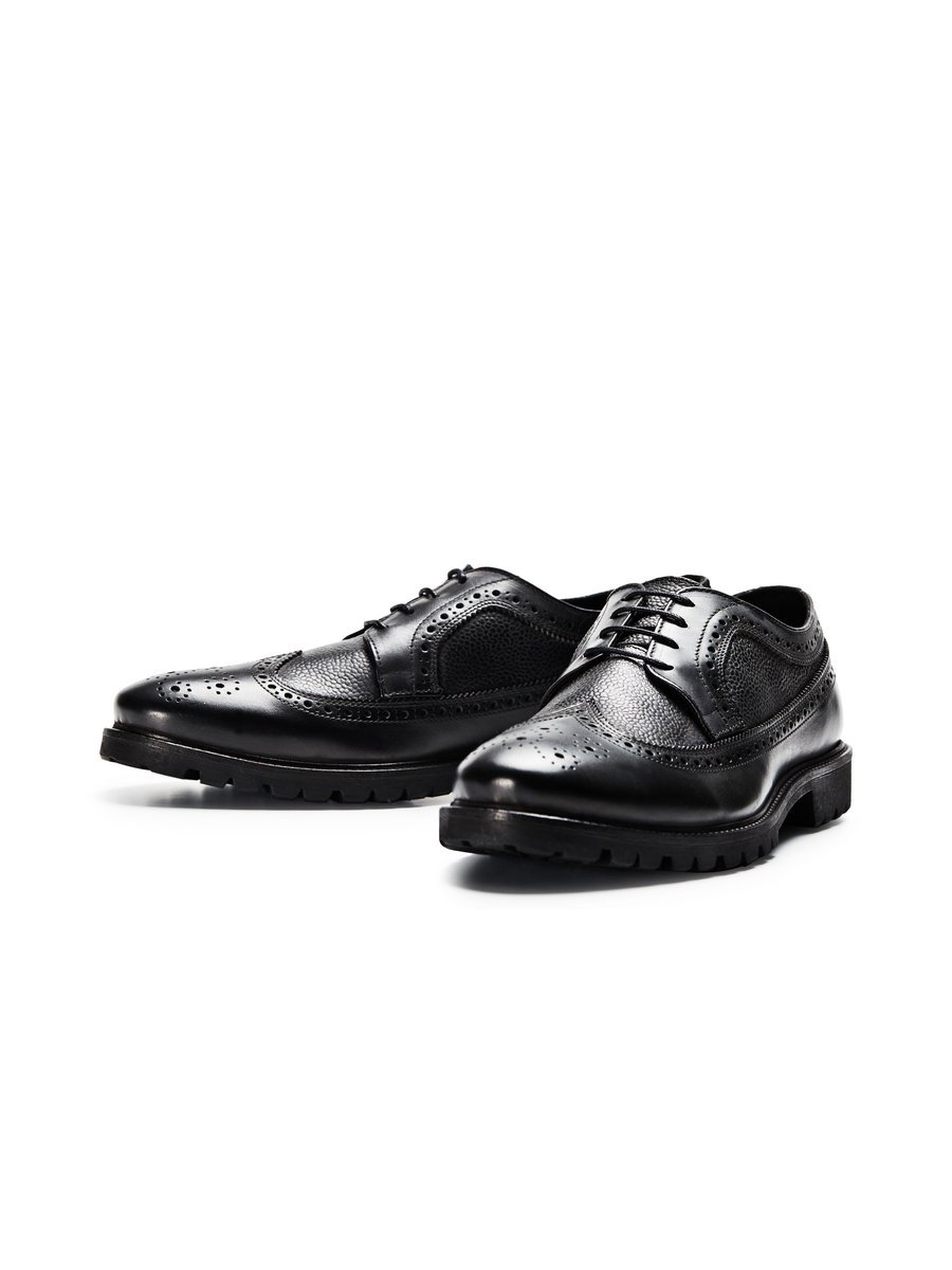 Classic leather shoes, £90 ( jackjones.com )