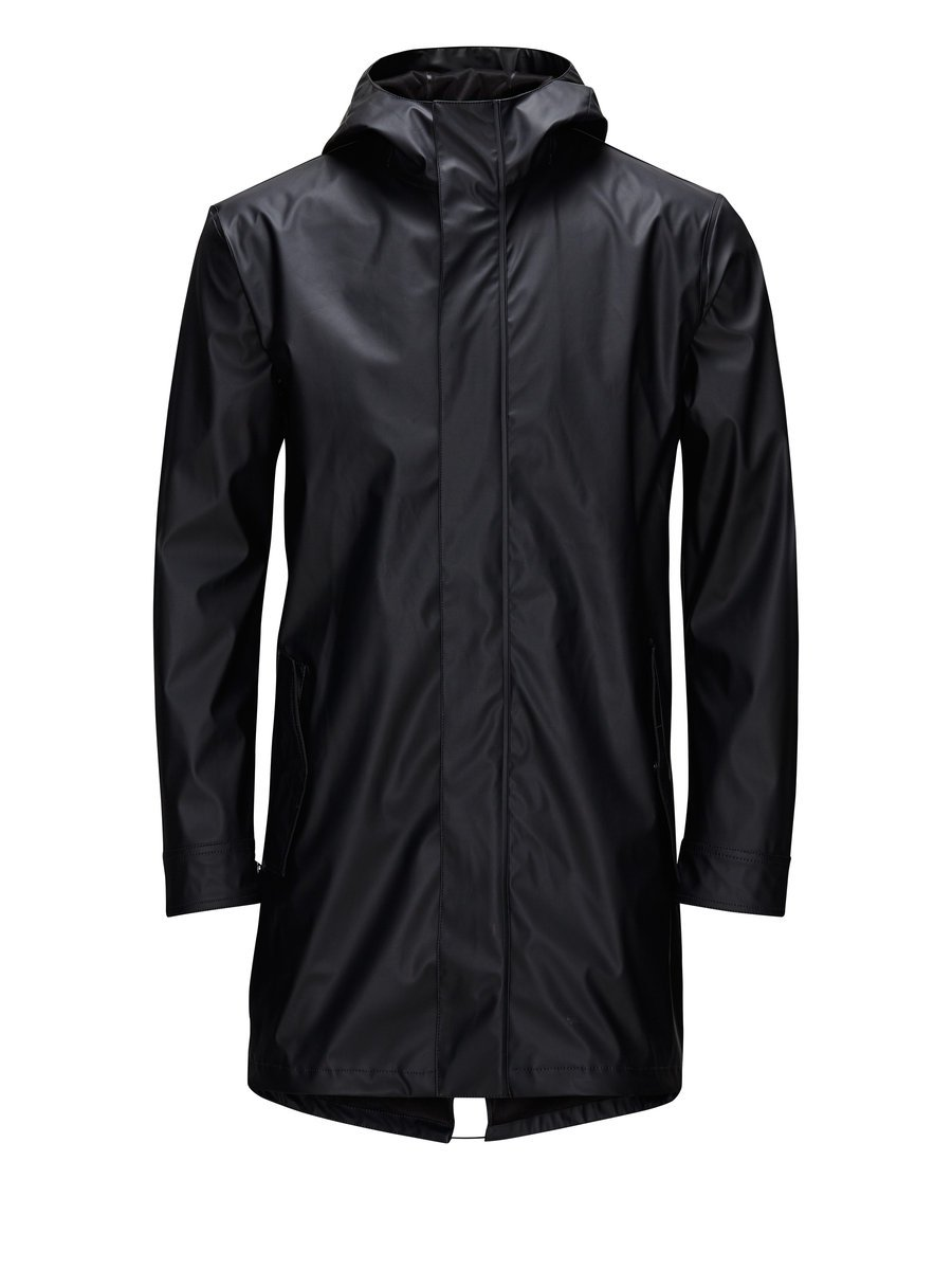 Waterproof raincoat, £86.99 ( jackjones.com )