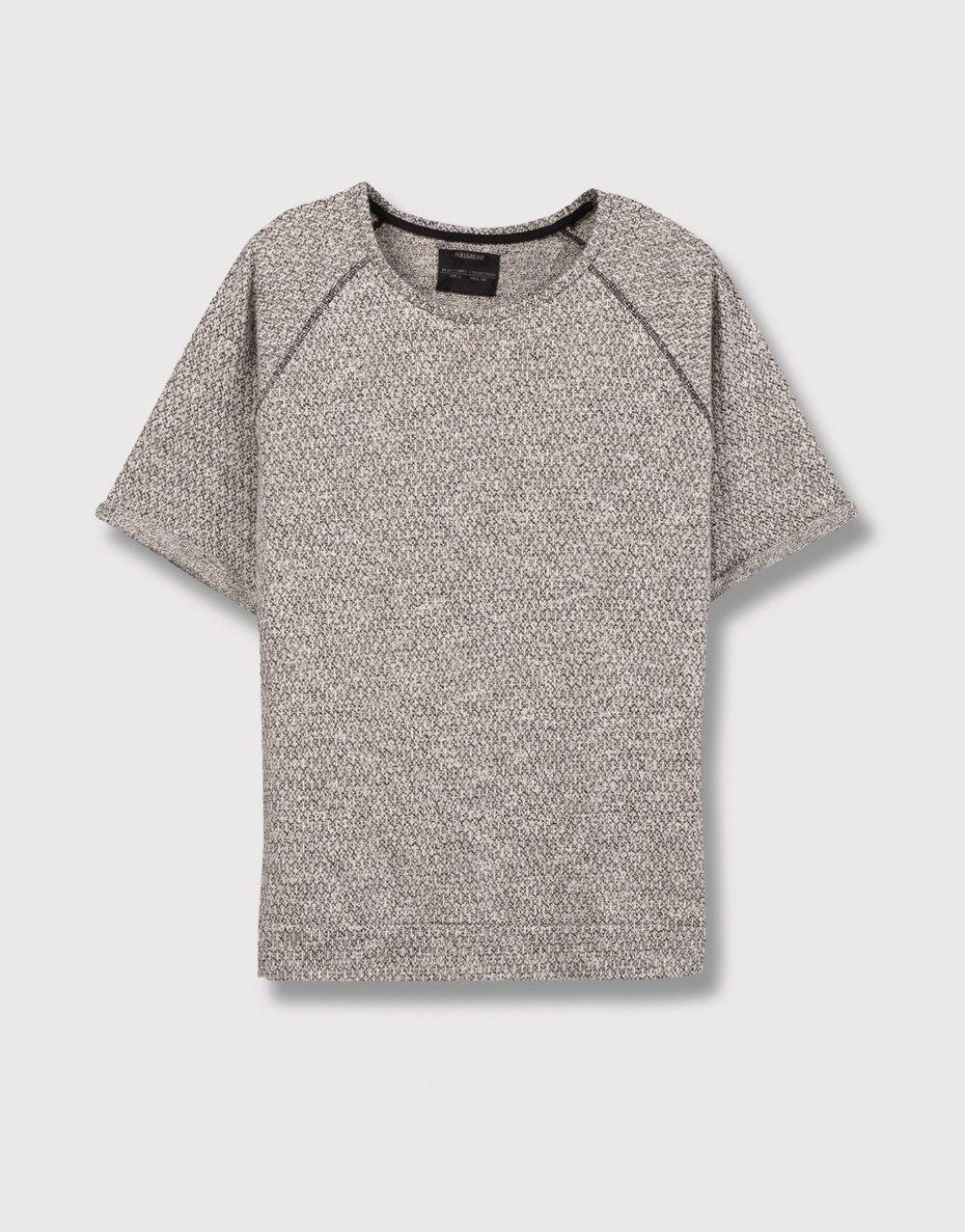 3/4 sleeve sweatshirt, £17.99 (pullandbear.com)