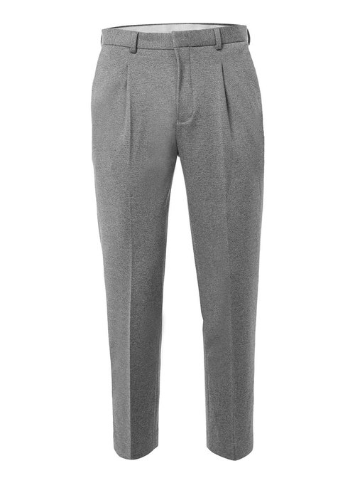 Salt and Pepper jersey cropped trousers, £35 ( topman.com )