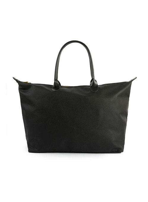 MI-PAC textured faux leather weekender bag, £35 ( topman.com )