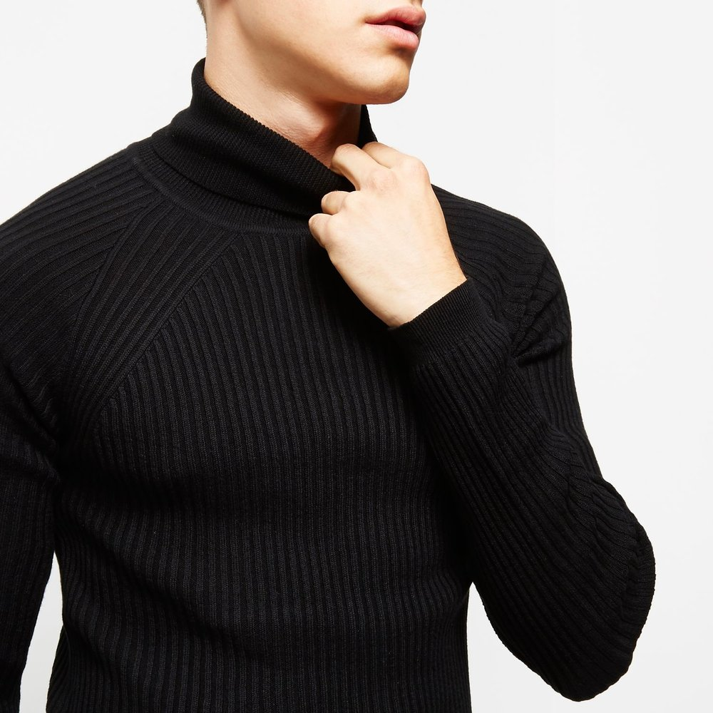 Roll neck jumper, £25 ( riverisland.com )