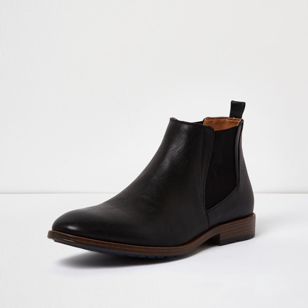 Tough Chelsea boots, £45 ( riverisland.com )
