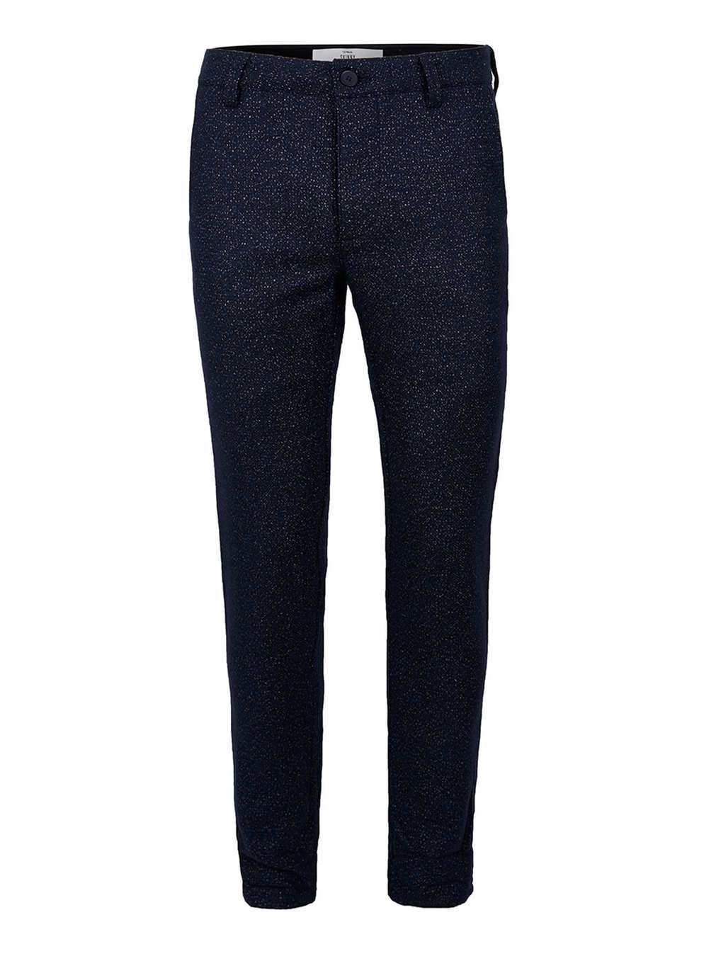 Wool blend skinny chinos, £35 (topman.com)