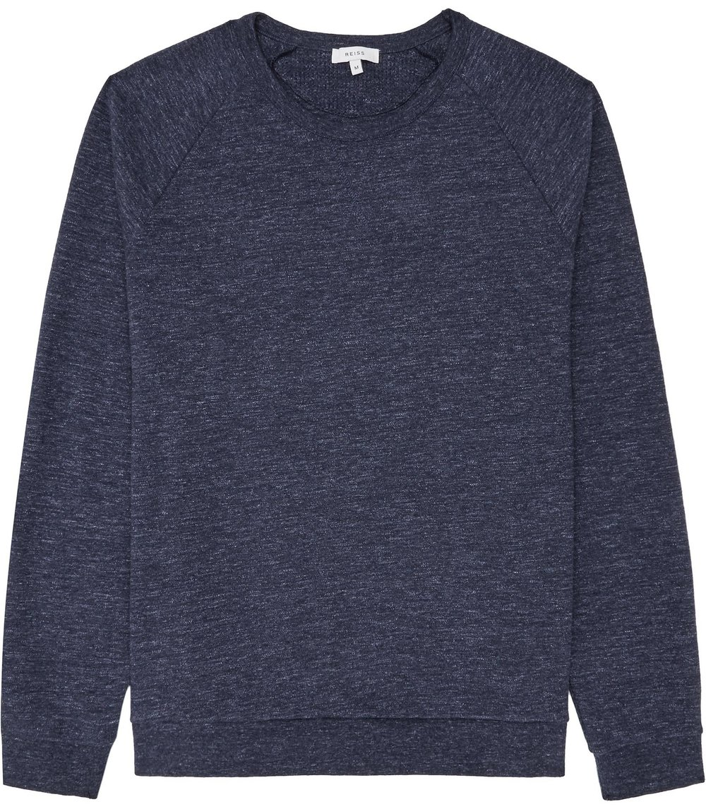 Rio marl sweatshirt, £70 (reiss.com)