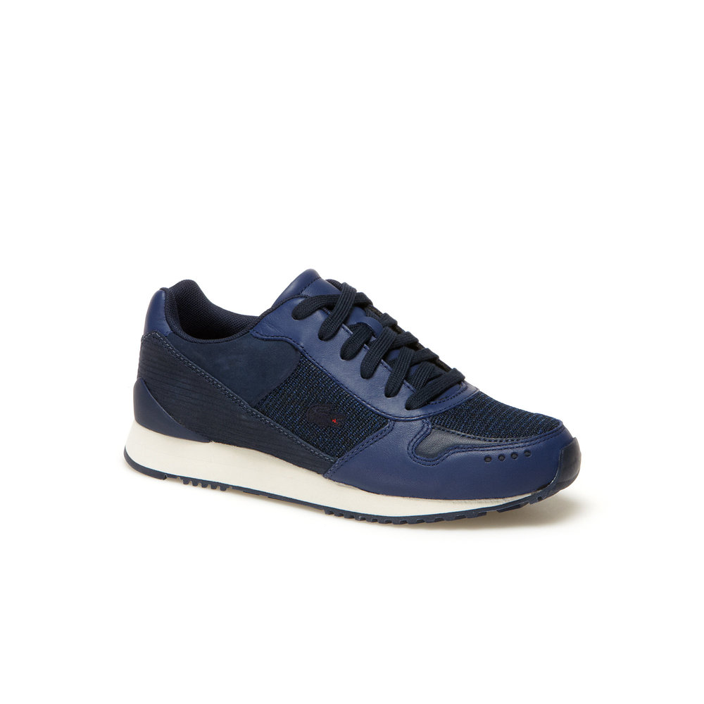 LACOSTE LIVE Trajet leather and nubuck running shoes, £85 (lacoste.com)