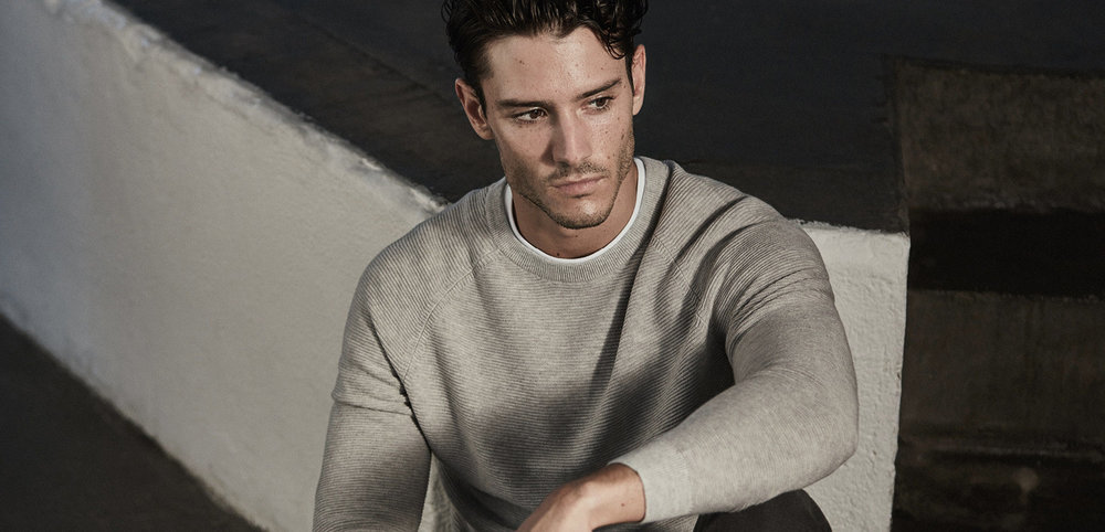 Jetty ribbed crew-neck jumper , £85