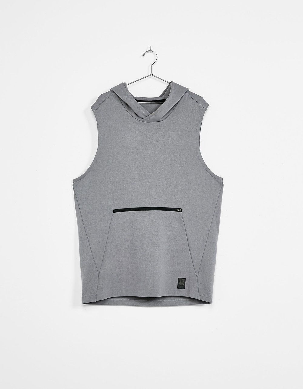 Hooded plush sport waistcoat, £22.99