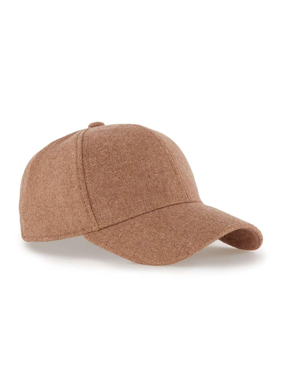 TOPMAN PREMIUM Tobacco Curved Peak Cap , £20