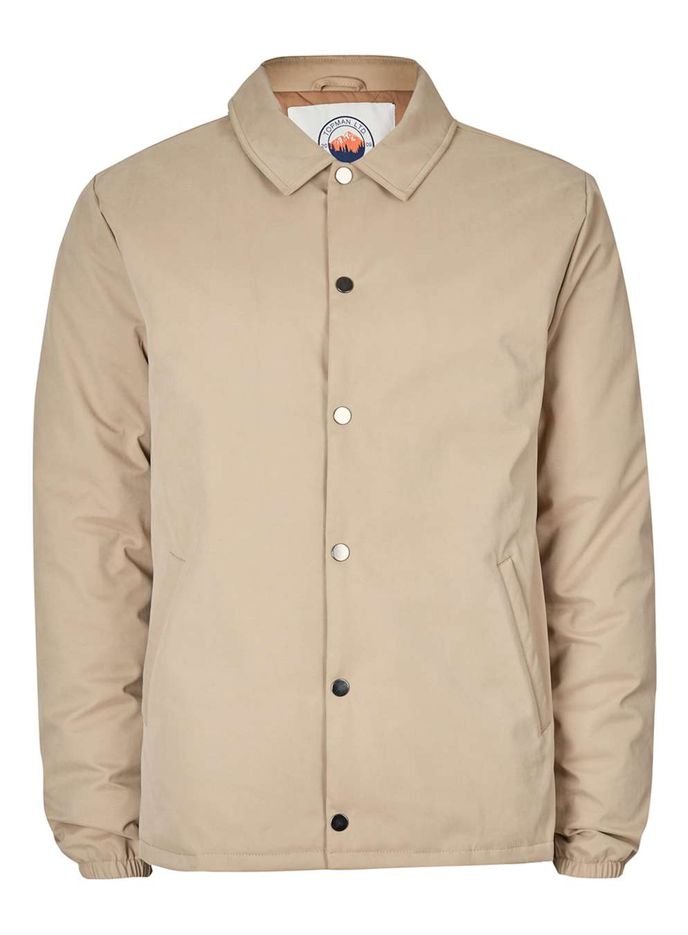 TOPMAN LTD Stone Premium Duck Down Coach Jacket, £80