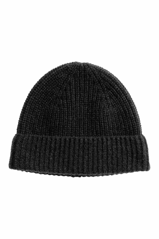 Cashmere hat, £24.99 ( hm.com )