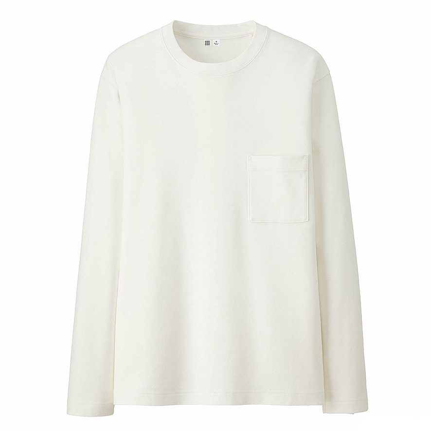 UNIQLO U Long Sleeve Crew Neck T-Shirt, £14.90 (uniqlo.com)