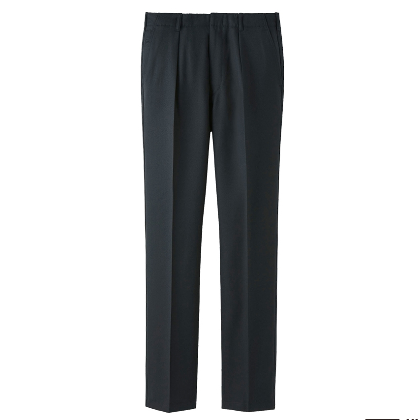 UNIQLO U wool pleated trousers, £49.90 (uniqlo.com)