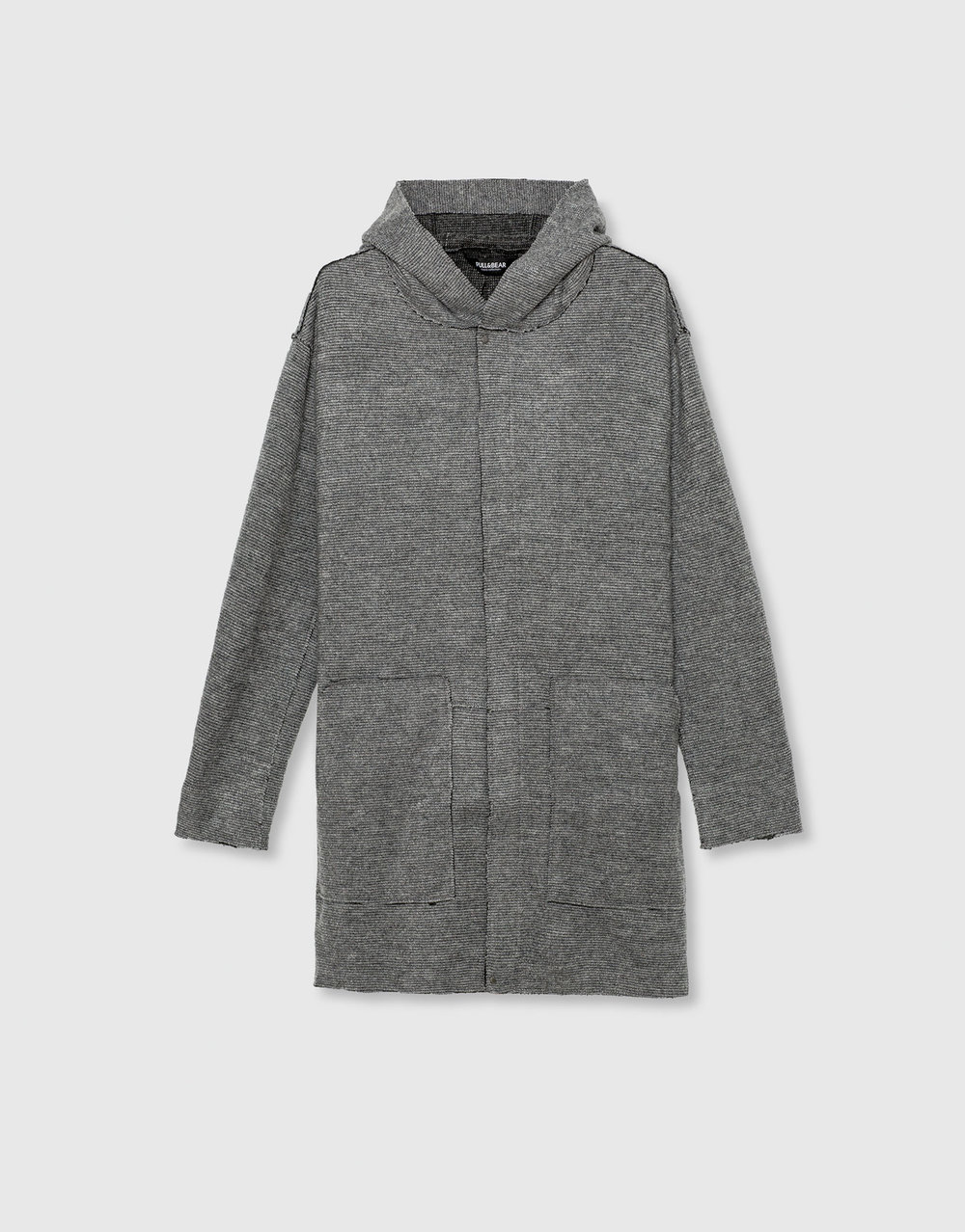 Flowing hooded coat, £49.99 ( pullandbear.com )