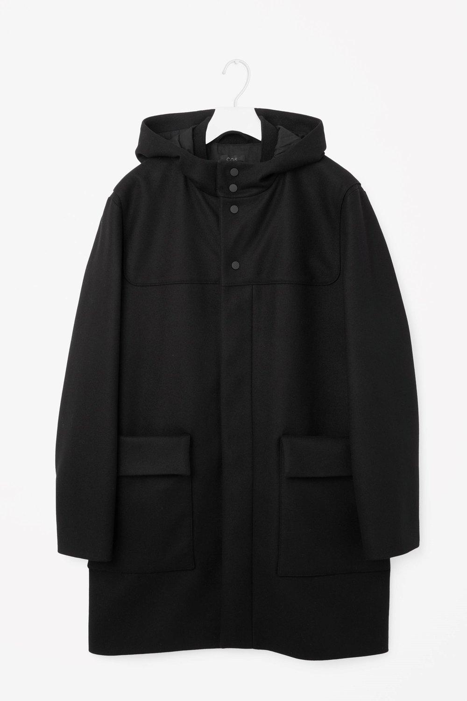 Wool duffle coat, £190 ( cosstores.com )