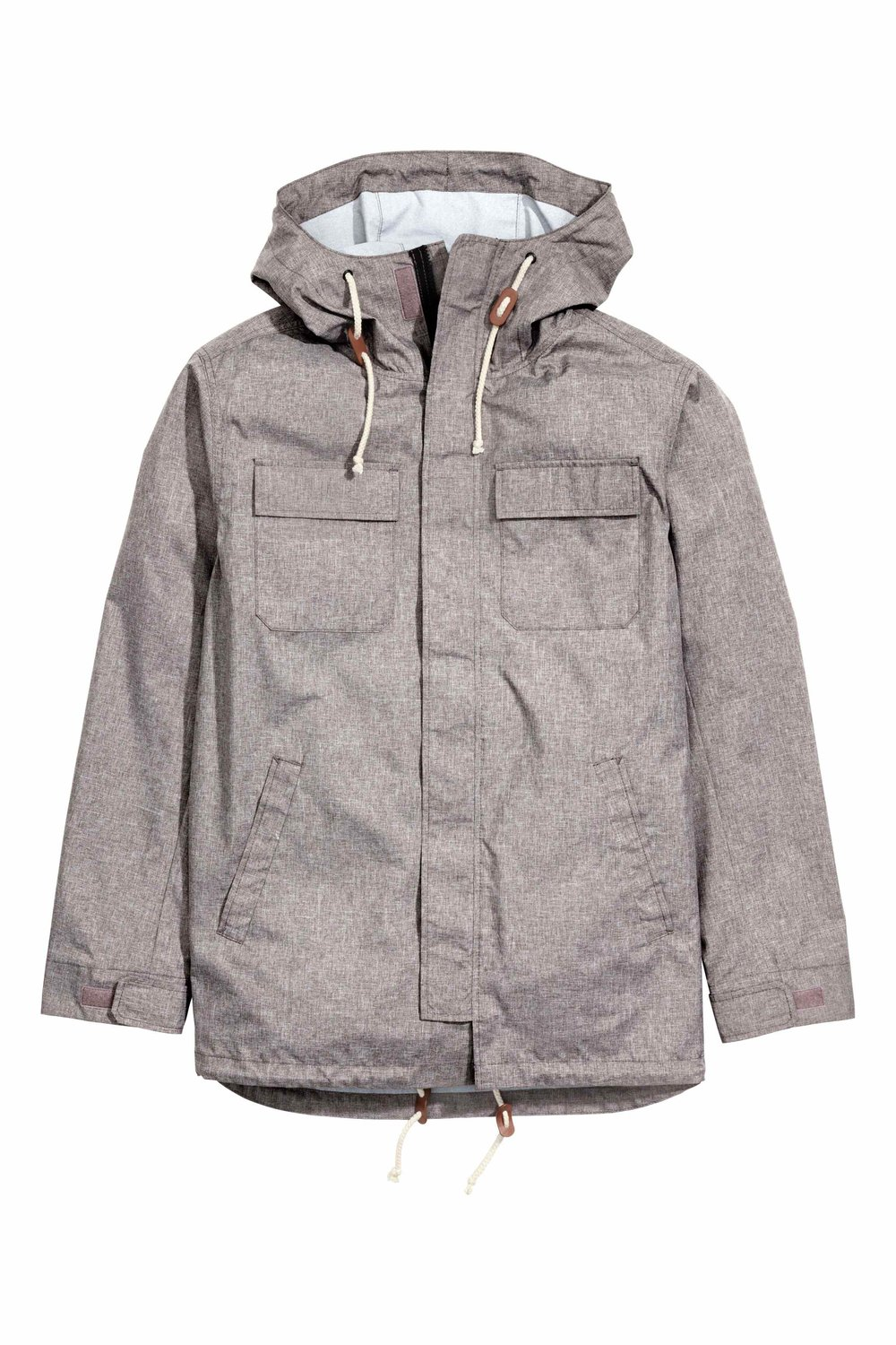 Parka with a hood, £29.99 ( hm.com )