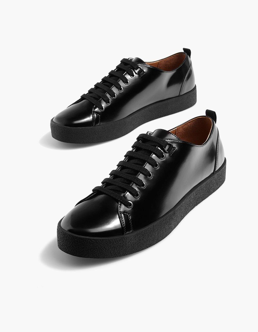 Black Sneakers, £29.99 ( Stradivarius )