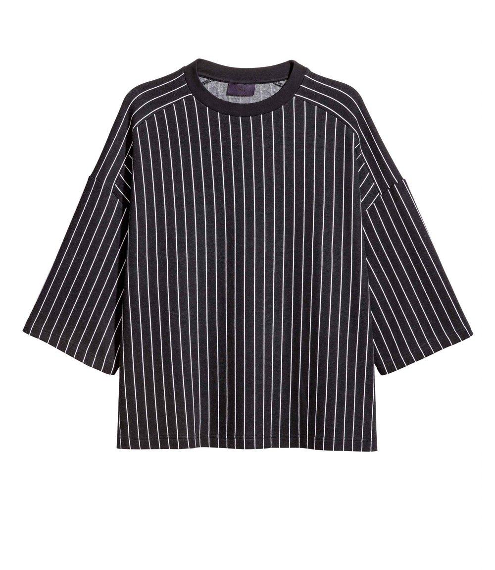Striped T-shirt, £24.99 ( H&M )