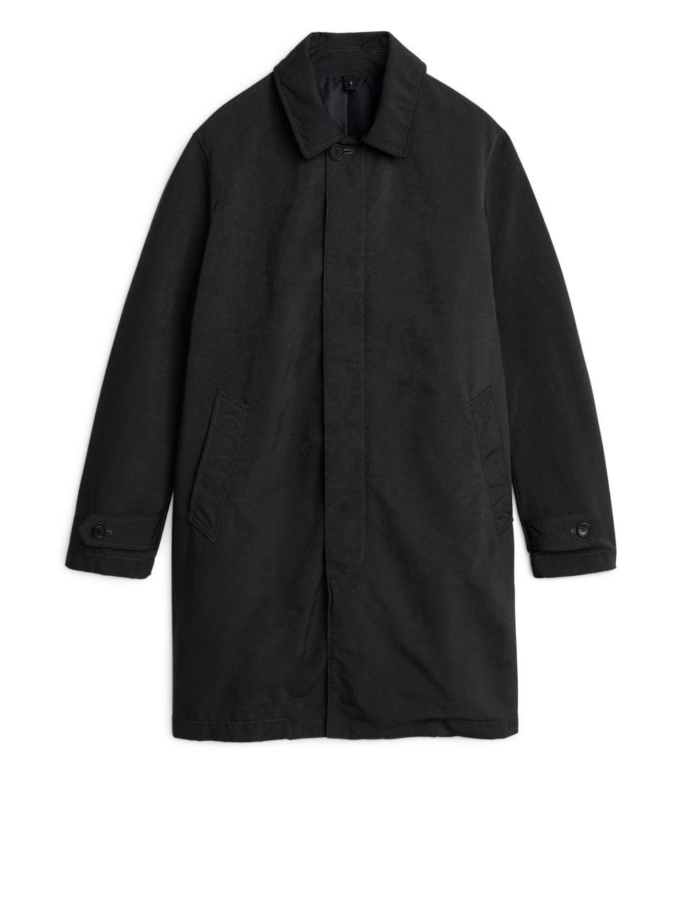 High-Density Topcoat, £250 ( ARKET )