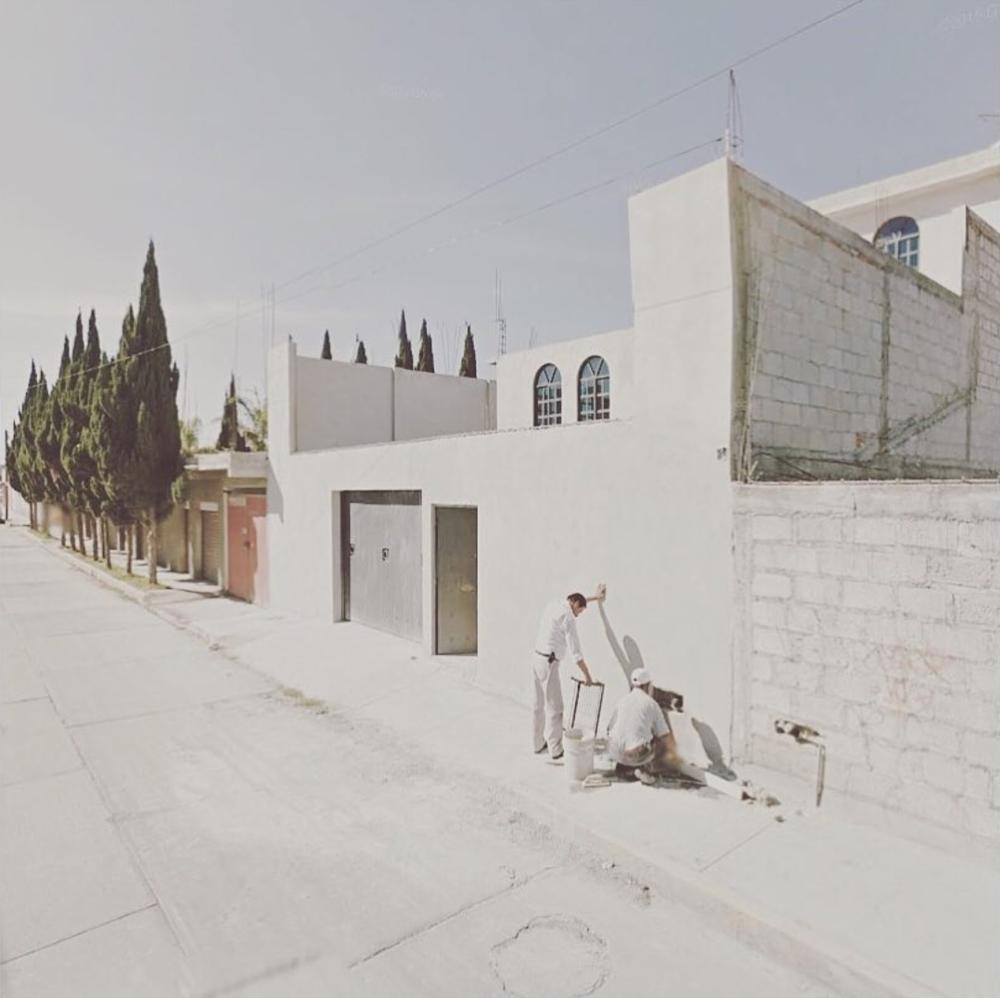 Jacqui Kenny, Google Street View Scene - Pachuca, Hidalgo, Mexico.  2017