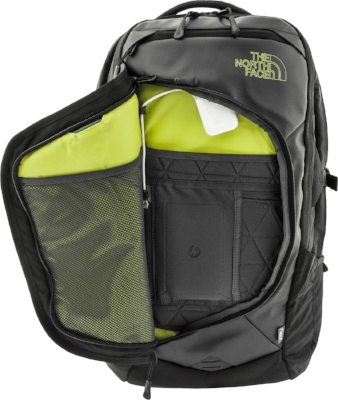 The North Face Resistor Charged Backpack Open