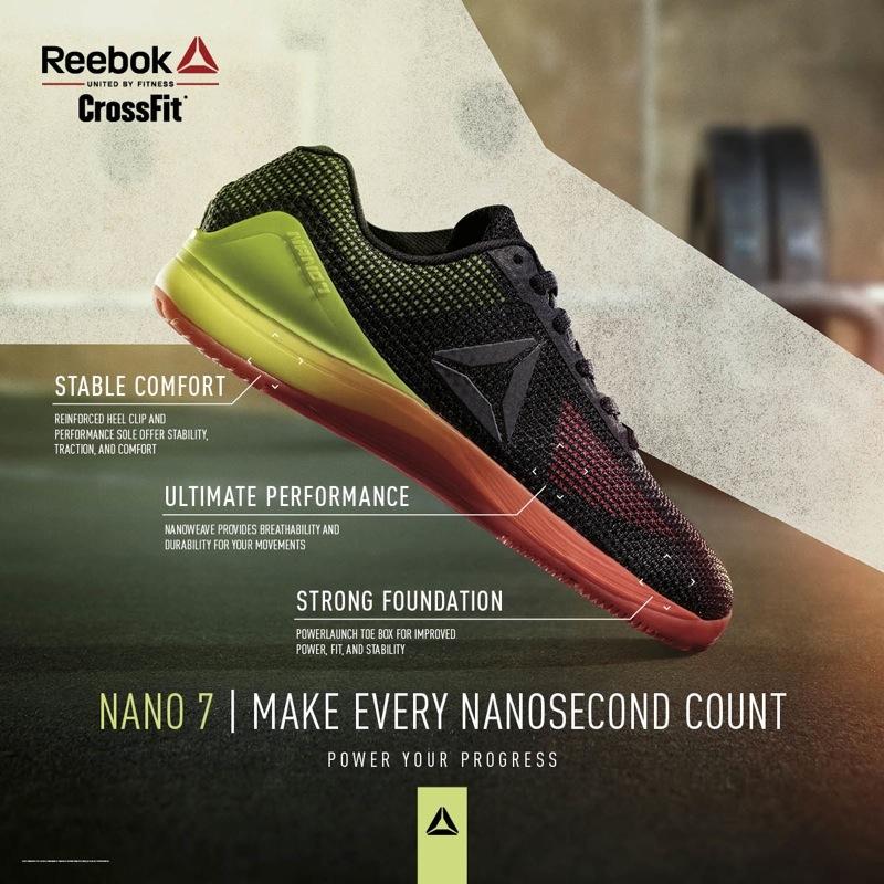 Reebok Nano 7 Crossfit